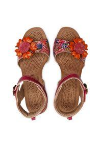 Różowe sandały Laura Vita