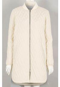 Soyaconcept Lekki płaszcz Fenya jasnobeżowy female beżowy L (42). Kolor: beżowy. Materiał: prążkowany. Długość rękawa: długi rękaw. Długość: długie