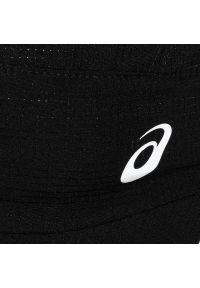 Czarna czapka z daszkiem Asics