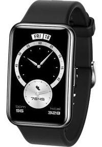 HUAWEI - Smartwatch Huawei Fit Elegant Czarny (55026332). Rodzaj zegarka: smartwatch. Kolor: czarny