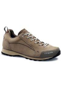 TREZETA męskie buty trekkingowe Flow WP beige foss