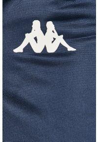 Niebieski komplet dresowy Kappa z nadrukiem