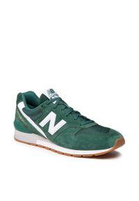 New Balance - Sneakersy NEW BALANCE - CM996CPF Zielony. Kolor: zielony. Materiał: skóra, materiał, zamsz