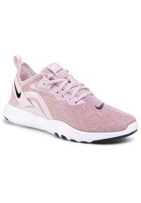 Różowe buty do fitnessu Nike Nike Flex, z cholewką