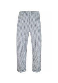 ForMax - Piżama Flanelowa, Bawełniana, Szara, Dwuczęściowa, Koszula Długi Rękaw, Długie Spodnie -FORMAX. Kolor: szary, srebrny, wielokolorowy. Materiał: bawełna. Długość: długie