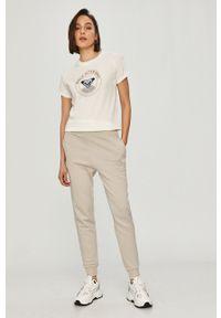Szare spodnie dresowe Reebok Classic gładkie