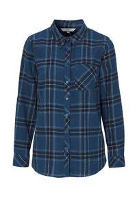 Cellbes Koszula flanelowa niebieski w kratkę female niebieski/ze wzorem 62/64. Kolor: niebieski. Wzór: kratka