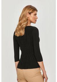Czarny sweter Pennyblack gładki