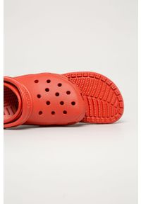 Pomarańczowe klapki Crocs