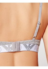Szary biustonosz push up Emporio Armani Underwear