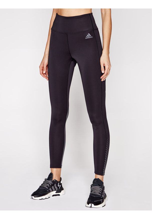Adidas - adidas Legginsy Designed 2 Move Aeroredy GL3984 Czarny Slim Fit. Kolor: czarny