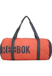 Reebok Torba sportowa Found Cylinder Ba pomarańczowa 24 l. Kolor: pomarańczowy