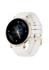 HUAWEI - Smartwatch Huawei Watch GT 2 42mm biały. Rodzaj zegarka: smartwatch. Kolor: biały. Styl: sportowy