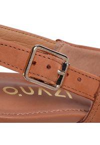 Brązowe sandały QUAZI klasyczne