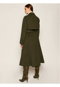 Zielony płaszcz przejściowy Sportmax Code