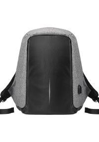 Szary plecak na laptopa WinMax biznesowy