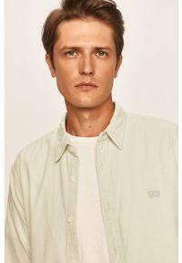 Miętowa koszula Levi's® z klasycznym kołnierzykiem, w kolorowe wzory