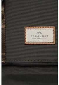 Doughnut - Plecak Christopher Jungle Series. Kolor: zielony. Materiał: włókno, nylon, poliester. Wzór: aplikacja