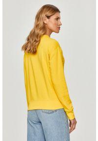 Żółta bluza Polo Ralph Lauren długa, polo, gładkie #5