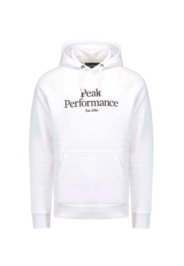 Peak Performance - Bluza PEAK PERFORMANCE. Materiał: bawełna. Wzór: napisy, haft. Styl: klasyczny, sportowy