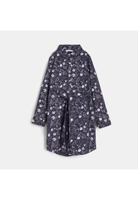 Sinsay - Sukienka koszulowa - Granatowy. Kolor: niebieski. Typ sukienki: koszulowe