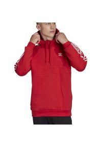 Adidas - ADIDAS 3-STRIPES HOODIE > FM3763. Typ kołnierza: kaptur. Materiał: bawełna