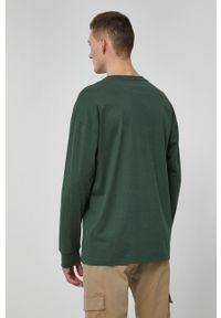 medicine - Medicine - Longsleeve Basic. Kolor: zielony. Materiał: bawełna, dzianina. Długość rękawa: długi rękaw. Wzór: gładki
