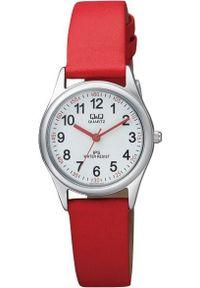 Czerwony zegarek Q&Q