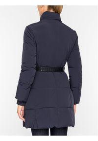 Niebieski płaszcz zimowy Emporio Armani