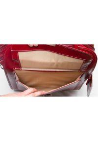 Torba na laptopa MCKLEIN La Grange 15.6 cali Czerwony. Kolor: czerwony. Materiał: skóra. Styl: klasyczny, elegancki