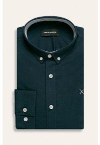 Niebieska koszula Clean Cut Copenhagen długa, elegancka
