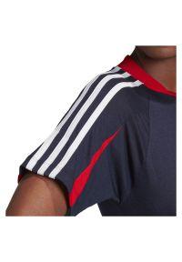 Adidas - Koszulka damska adidas Aeroready LOGO FS6151. Materiał: materiał, bawełna, dzianina, skóra, poliester, wiskoza. Sport: fitness
