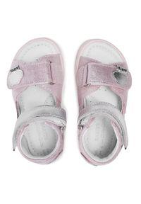 Bartek - Sandały BARTEK - 114590-01 Róż. Kolor: różowy. Materiał: skóra, zamsz