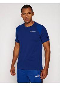 Niebieski t-shirt Champion