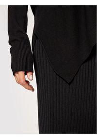 Kontatto Sweter 3M7204 Czarny Relaxed Fit. Kolor: czarny