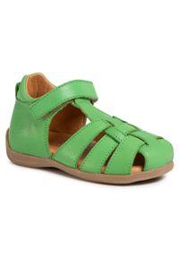 Zielone sandały Froddo klasyczne, na lato
