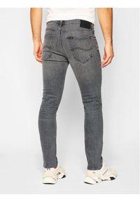 Lee Jeansy Slim Fit Luke L719PYMO Szary Slim Fit. Kolor: szary. Materiał: jeans