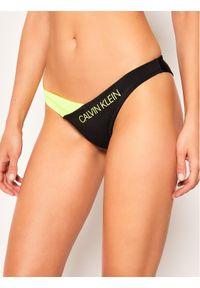 Czarne dół bikini Calvin Klein Swimwear