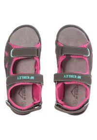 Sandały dla dzieci McKinley Tariko III Jr 232474. Zapięcie: rzepy. Materiał: materiał. Styl: wakacyjny
