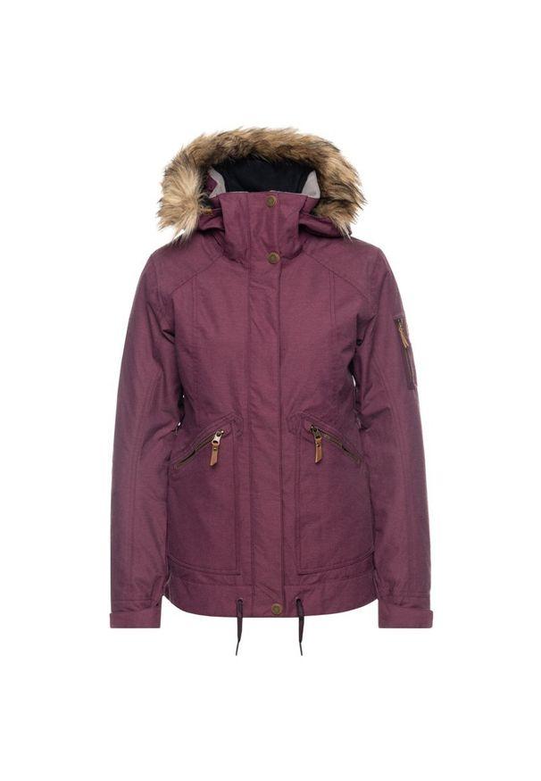 Czerwona kurtka narciarska Roxy