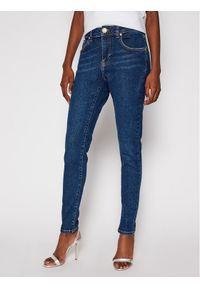 Niebieskie jeansy slim One Teaspoon