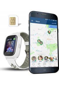 Biały zegarek CALMEAN smartwatch