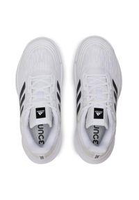 Białe buty do fitnessu Adidas