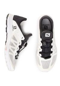 Białe buty sportowe salomon z cholewką