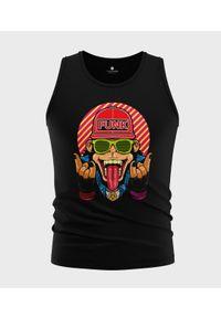 MegaKoszulki - Koszulka męska bez rękawów Małpa funky. Materiał: bawełna. Długość rękawa: bez rękawów