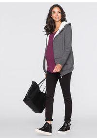 Czarne jeansy bonprix moda ciążowa