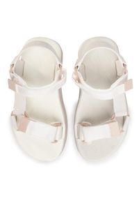 Białe sandały melissa casualowe, na co dzień