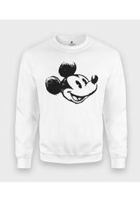 MegaKoszulki - Bluza klasyczna Rysowana Myszka Mickey 2. Wzór: motyw z bajki. Styl: klasyczny