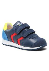 Pablosky - Sneakersy PABLOSKY - 286527 S Torello. Okazja: na spacer, na co dzień. Zapięcie: rzepy. Kolor: niebieski. Materiał: skóra, zamsz. Szerokość cholewki: normalna. Styl: casual