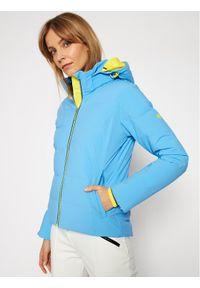 Niebieska kurtka zimowa Descente